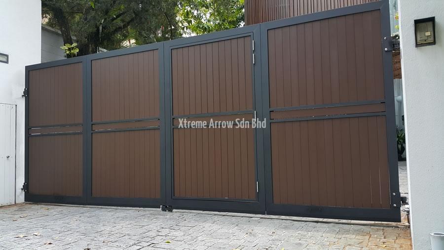 Stainless Steel Gate Aluminium Auto Gate Gallery