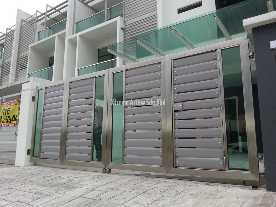Beaugates Aluminium Gate Stainless Steel Gate Auto