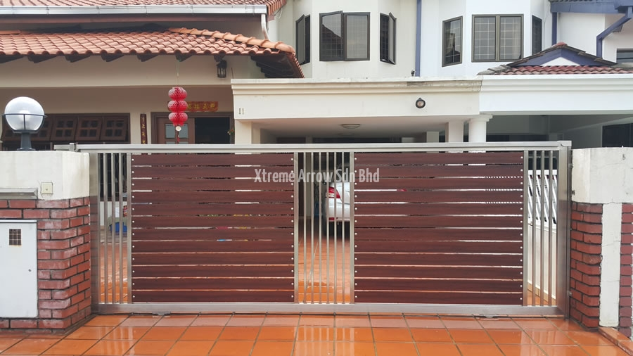 Stainless Steel Gate Auto Gate Malaysia Aluminium Gate Kl Stainless Steel Gate Gallery