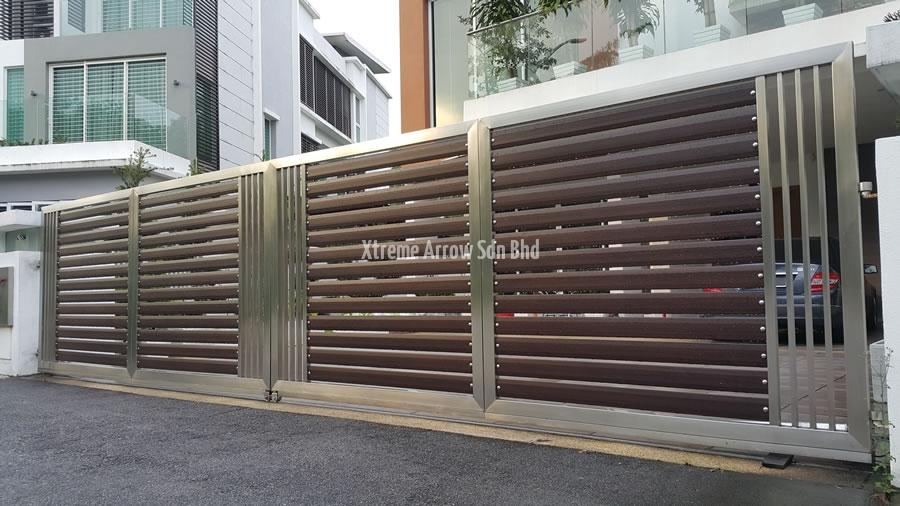 Beaugates Aluminium Gate Stainless Steel Gate Auto