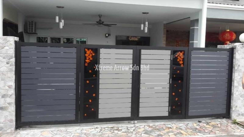 Gate design iron simple gate design wrought iron simple gate design - Stainless Steel Automatic Gate Auto Main Gate Design
