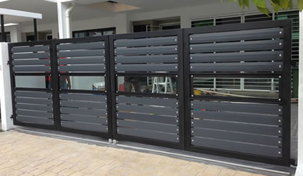 Stainless Steel Gate Aluminium Automatic Gate Auto