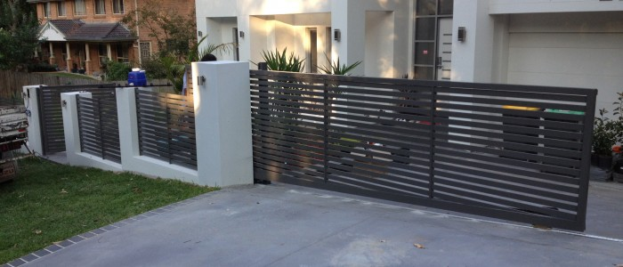 bar ideas for your garage - Stainless Steel Gate – Auto gate system contractors