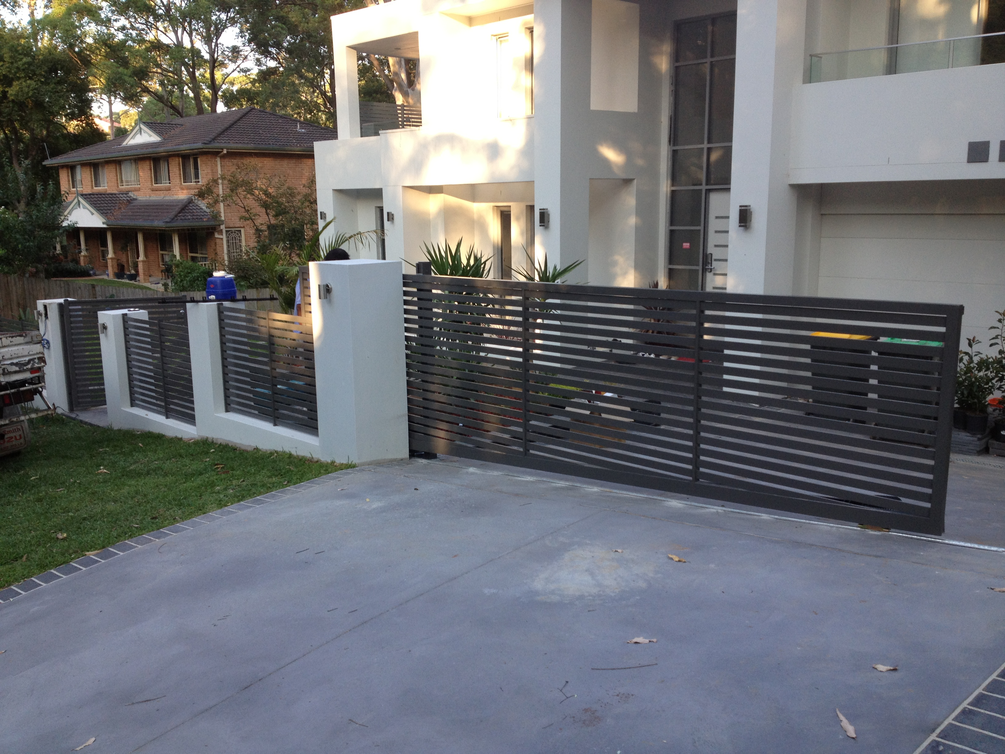 Stainless Steel Gate Various Types Of Auto Gate System
