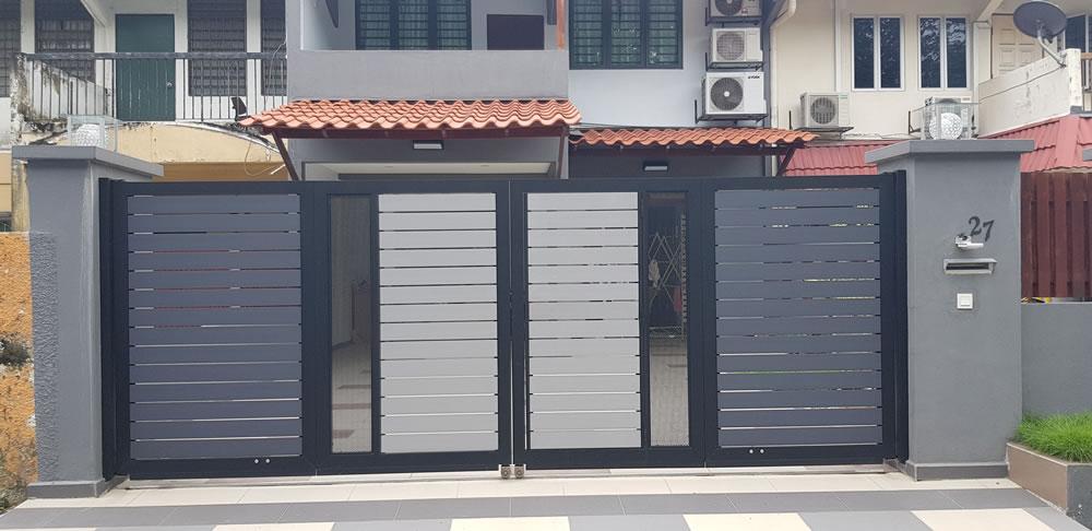 Beaugates Aluminium Gate Stainless Steel Gate Auto Gate Malaysia Main Gate